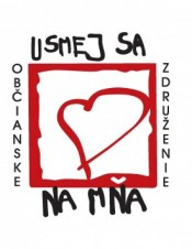 Usmej sa na mňa Logo